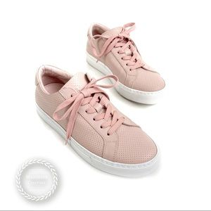 GREATS Royale Perforated Leather Lace Up Sneakers
